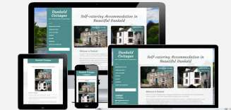 Dunkeld Cottages Website | Perth Web Design | Wolbferry Media