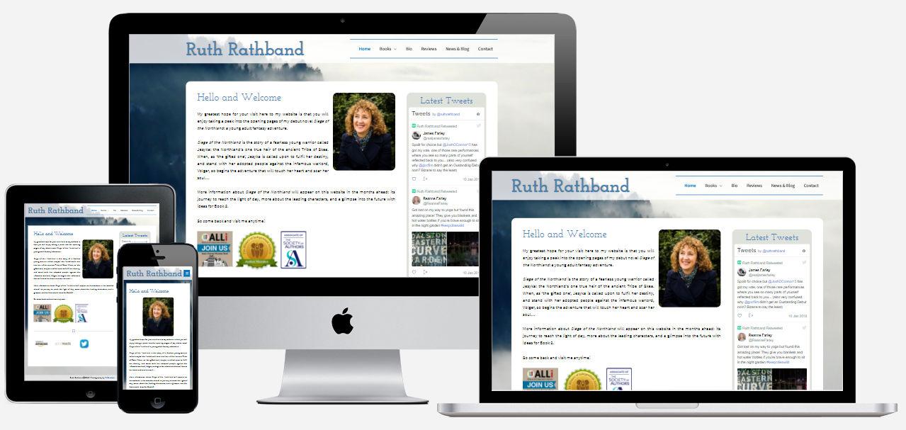 Ruth Rathband New Website