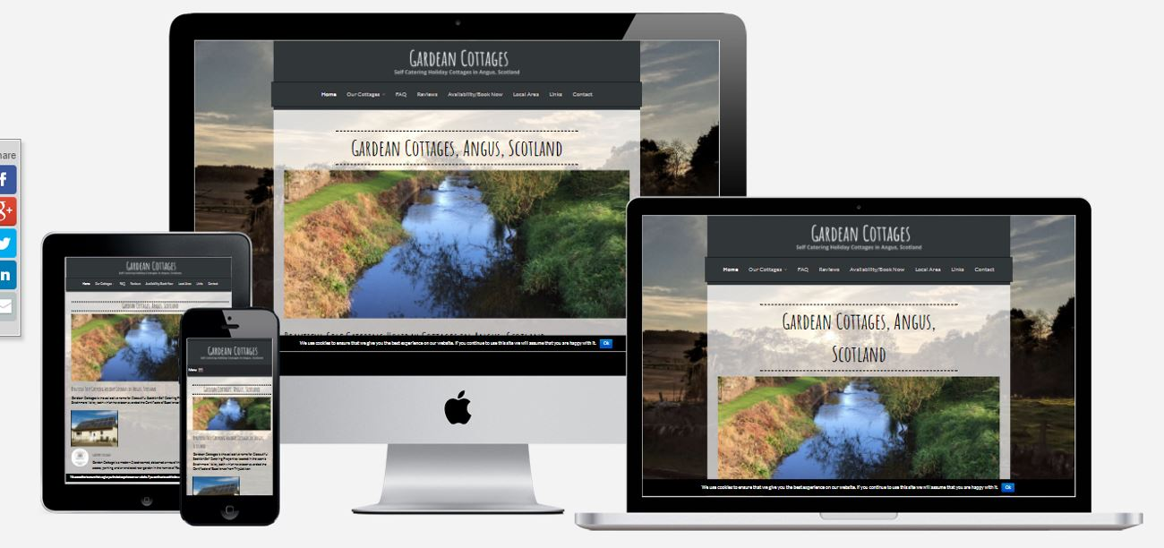 Gardean Cottages | Wolfberry Media - Local SEO and Web Design
