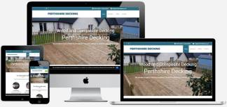 Perthshire Decking | Wolfberry Media Portfolio - Web Design Perth & Dundee
