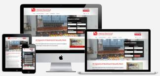 R Waine Electrical | Wolfberry Media Portfolio - Web Design Perth & Dundee