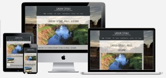 Gardean Cottages | Wolfberry Media Portfolio - Web Design and SEO