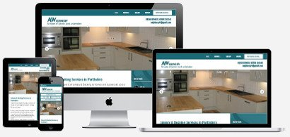 AW Joinery Mock Image | Wolfberry Media Web Design