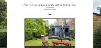 Ardler Tavern Glamping Screenshot | Dundee Web Design
