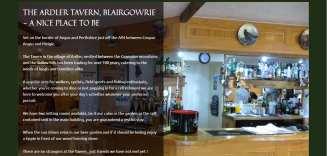Ardler Tavern Website | Web Design Dundee | Wolfberry Media