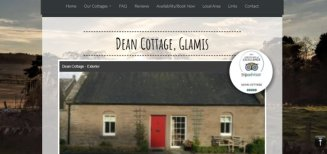 Gardean Cottage Case Study | Angus Web Design | Wolfberry Media
