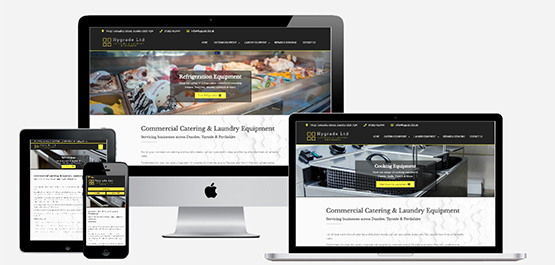 Hygrade Ltd Dundee Website Mock
